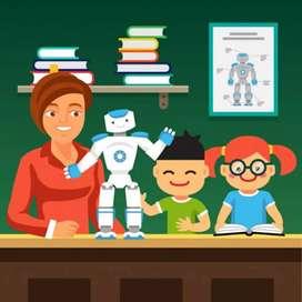 Robotics online class through zoom