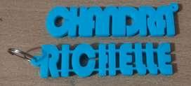 Gantungan Kunci Nama/Logo