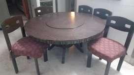 Dining table ( teak wood )