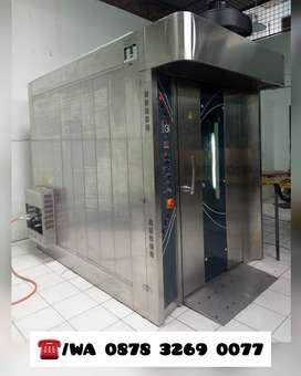 Gas Rotary Oven Baru, cocok untuk pabrik roti, kapasitas 36 loyang