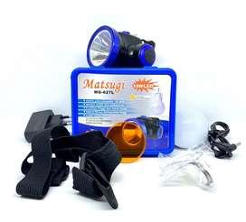 SENTER KEPALA LED MATSUGI MG 627L 15 WATT