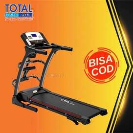 treadmill elektrik tl 630 treadmil 2 hp total COD Cilacap
