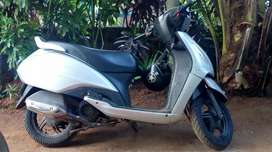 Carely used scooter
