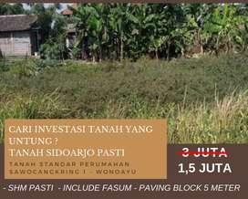 Ayo Kredit Tanah Kavling Pasti Bermanfaat Selatan Surabaya