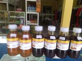 Madu Hutan Kuning dan Hitam Murni dari Sumatera