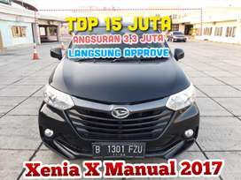 Daihatsu Xenia 1.3cc X Manual 2017,TDP 15 Jt angs.3,3 jt lsg APPROVE