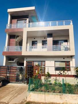 Newly built 10 marla kothi for sale in aerocity mohali