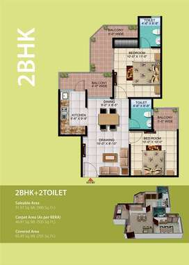 Special edition for 2 BHK flat @ raj nagar extension