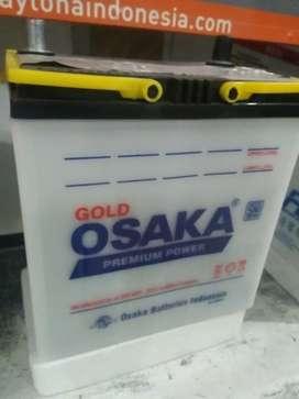 Aki basah garansi 6 bulan osaka battery accu suzuki baleno 35 ah
