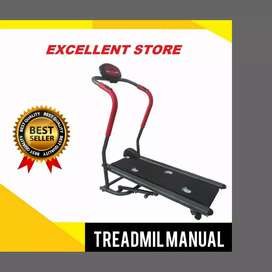 new treadmill manual alat fitnes ID-012