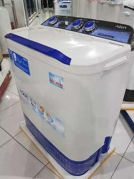 Mesin cuci Aqua 7kg & 8kg Garansi Resmi 5 tahun
