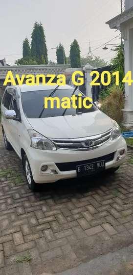 Avanza G 2014 asli tangan pertama