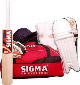 Same Day Door Delivery, Brand New Cricket Kit with bat for Kids, Adult
