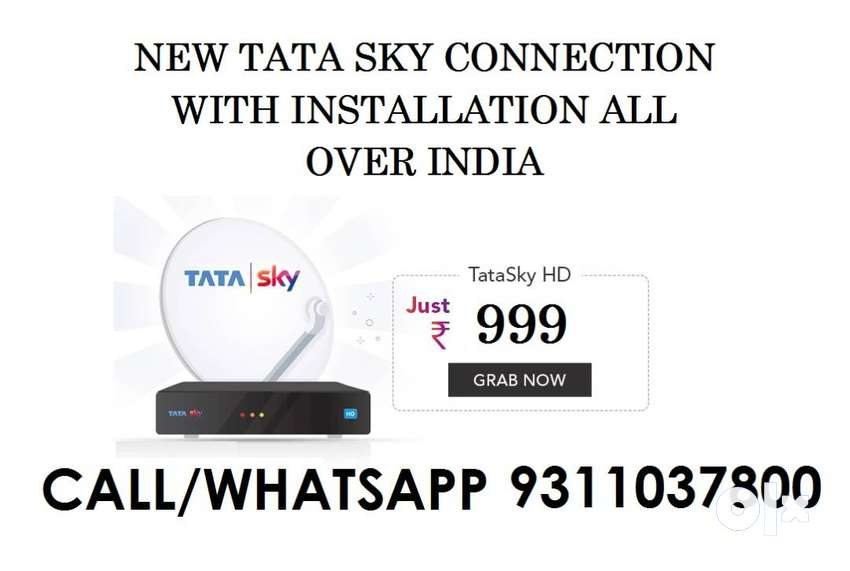 TATA SKY NEW CONNECTION WITH JUST RS 999/- 0