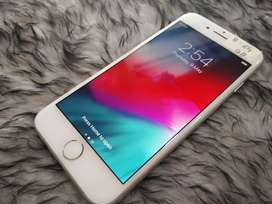 Apple iPhone 8 64gb silver all accs & bill