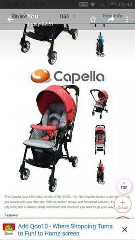 Capella Brand Stroller for sale