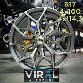 Velg Mobil Avanza Racing HSR R16 Bisa Dicicil Dan Tukar Tambah