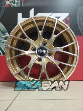 hsr wheel ring 15 h4(100) gold polish di ska ban pekanbaru