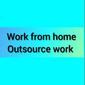 Work from home Outsource work