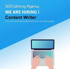 Content Writer Required