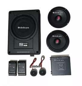 • Cekk !! Audio mobil Kekinian (Wofer spiker Processor)