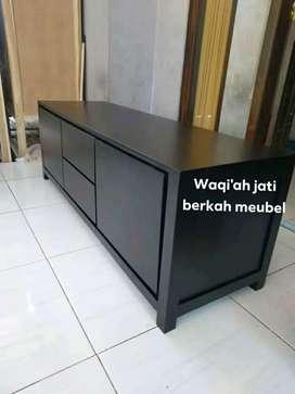 (Meja tv Waqi'ah) Meja tv minimalis mewah & modern , P. 150cm,