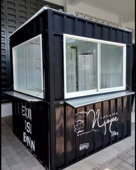 Booth container booth coffee container cafe container Kantor