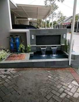 Kolam minimalis/tukang kolam/kolam batu alam