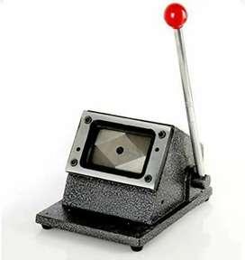 PVC Card Cutting Machine
