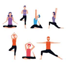 Online and offline Yoga classes