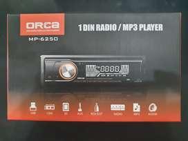 Single Din Merek Orca (Mp3.Usb.Mmc.Aux.Radio) Cuma Rp. 250rb