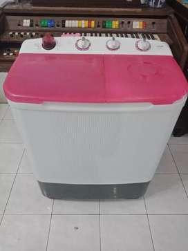 Mesin cuci 2 tabung SANKEN PINK GRATIS ONGKIR +GARANSI