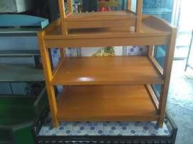 Meja kayu tv 21 inchi FREE ANTAR BJM