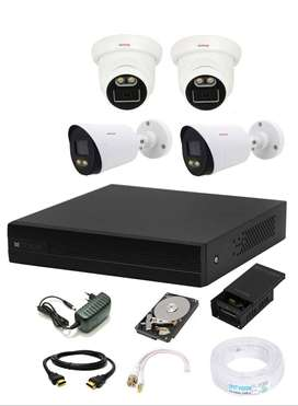 CCTV Full HD 2.4 MP Colorful View in Nightvision CP Plus Make in india
