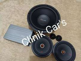 Paket Audio Mobil 1set Mapletech By CANADA^^