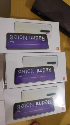 Xiaomi redmi note 8 pro 64gb 6gb baru segel