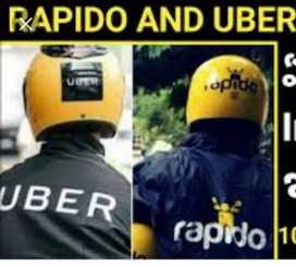 Uber Bike driver in Jaipur