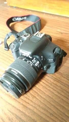 Canon EOS 600D mulus