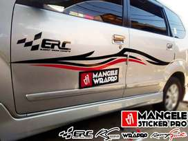 Exclusive Visual Dengan Sticker Cutting Premium Mangele Bandung