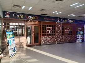 Female Receptionist Required at Cafe Legacy
