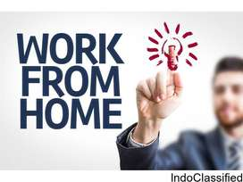 •FRESHERS PART TIME WORK FOR IN DELHI/NCR