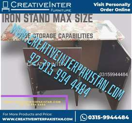 Iron stand three dsign sofa bed center table chair istri stand Almari