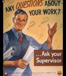 Need supervisor