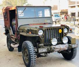 Open new modified willys jeeps