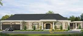 Jasa Arsitek Jambi Desain Rumah 914.8m2