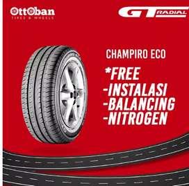 Ban mobil merk GT radial champiro eco 185 60 R15 brio agya vios