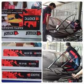 KACA film Exsotic kwalitas dingin hrg murah per mobil cuma 750rb