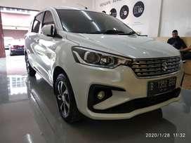 Suzuki Ertiga GX AT Matic NIK 2019 Putih KM 5ribuan