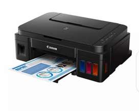 Canon g2000 inkjet printer