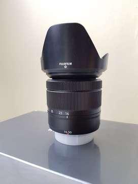 Lensa Fuji Fujifilm Fujinon XC 16 - 50 mm OIS II KIT Ex. FFID Black